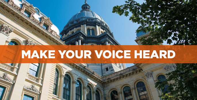 Make Your Voice Heard-State Capitol