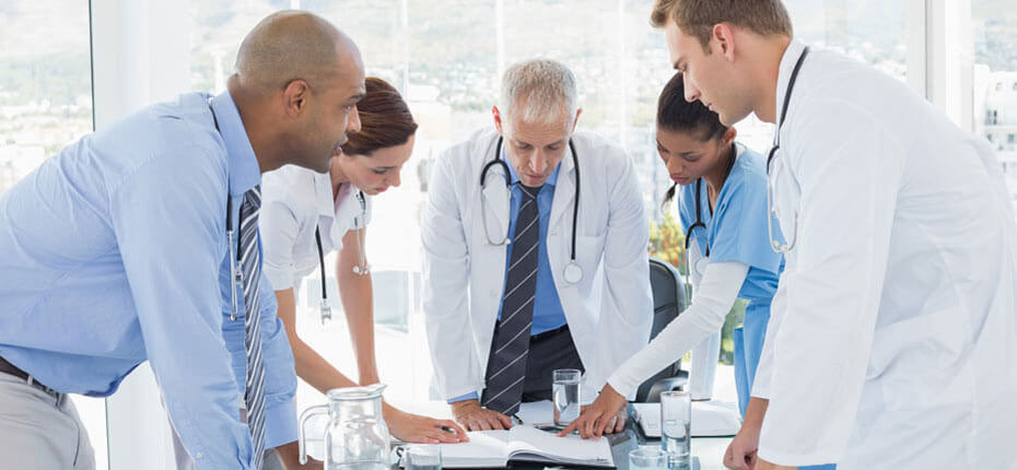 Physicians and providers working together
